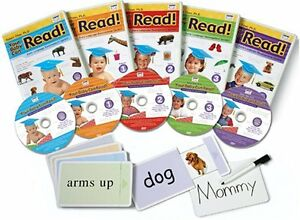"""""""Your Baby Can Read"""" Full DVD Andy book set"""