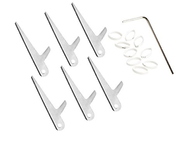 """Swhacker 2 Blade 150 Grain 3"""" Cut Replacement Blades 6 Pack"""