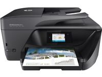 HP OfficeJet Pro 6970 - nearly new, comes with paper and free ink!