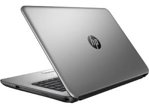 Silver HP 15 inch 8 GB ram Laptop with Samsung Evo SSD