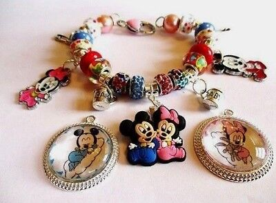Disney Jewelry For Adults (Mickey, Minnie, Donald & Daisy Bracelets for Adults Buy 1 Get 1 50% OFF All)