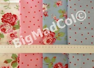 Ikea-Cath-Kidston-Rosali-Floral-Dots-fabric-material-shabby-chic