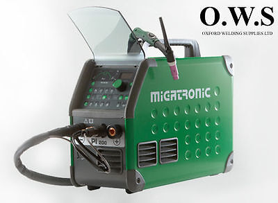 Migatronic Pi 200 Acdc Tig Welding Machine Pulse Air Cooled 240v Welder