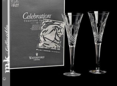 Waterford Celebration Flutes Ebay