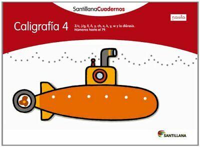 CALIGRAFIA 4 PAUTA SANTILLANA CUADERNOS
