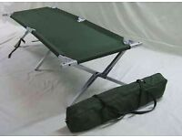British Army Camping Beds
