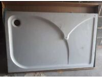 brand new shower tray 1400 x 900 mm 0.08 thick