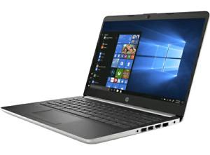 "HP 14"" Laptop - Natural Silver 2018 model"
