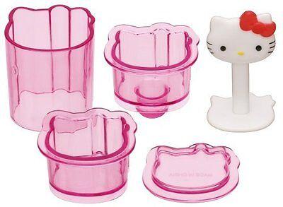 Sanrio Hello Kitty Mini Rice Ball Musubi Mold Sushi Press - Sanrio Hello Kitty Stamp