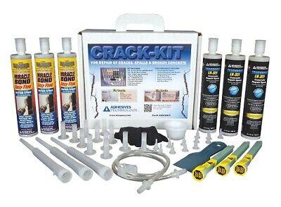 Crack-kit Epoxy Injection Concrete Crack Repair Kit - New Condition