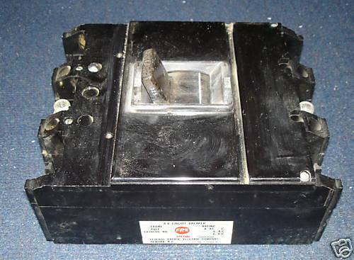 Federal Pacific Circuit Breakers  NJ631225 225 AMP USED