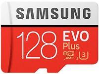 Samsung MB-MC128GA/EU Memory Evo Plus 128 GB Micro SD Card with Adapter