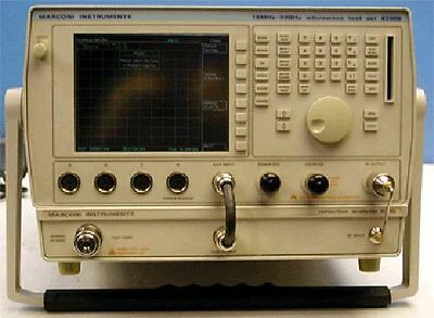 Marconiifr 6200b 6210 Rfmicrowave Test Set Reflection Analyzer Wopt. 13