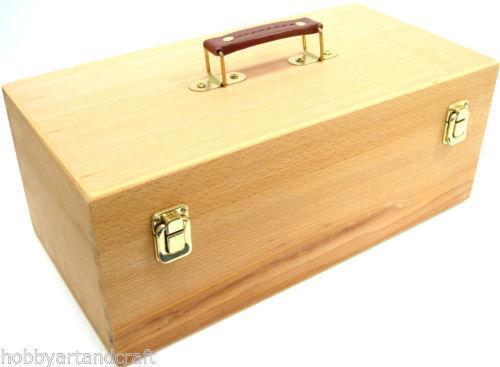 Wooden Artist Box Ebay