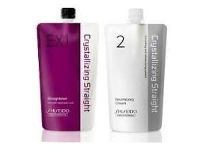 SHISEIDO PERMANENT HAIR STRAIGHTENING JAPAN Japanese treatment crystallizing EX1