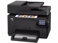 Used - HP Color LaserJet Pro M177fw Wireless Multi Function Printer with Fax (less thank 1 yr old)