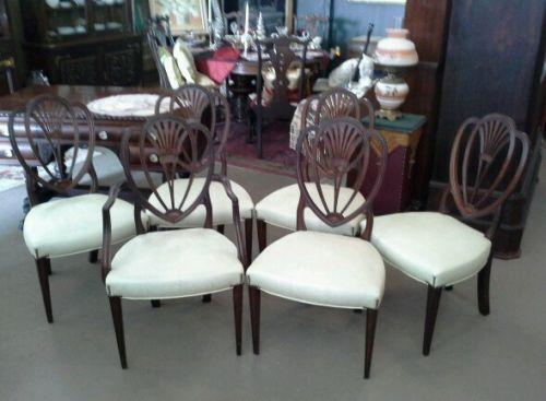Hepplewhite Dining Chairs Ebay