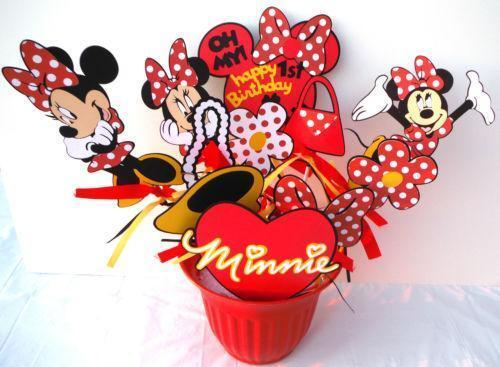 Minnie mouse centerpiece party supplies ebay
