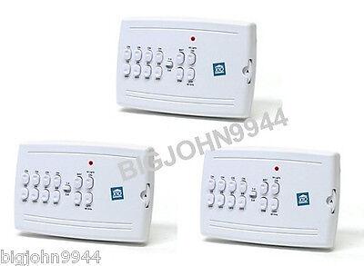 Factory Plug In Bundle - 3 Pack X10 MC10A 8 Unit Plug in  Mini Controller (Updated MC460 ) Factory Fresh