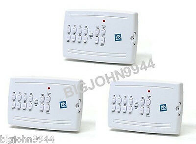3 Pack X10 MC10A 8 Unit Plug in  Mini Controller (Updated MC460 ) Factory Fresh
