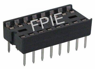 Lot Of 4 16 Pin Ic Dip Socket 2200-6859