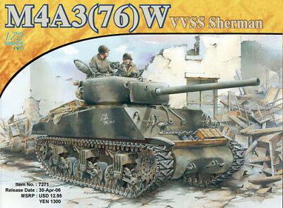 Dragon #7271 1/72 M4A3(76)W Sherman