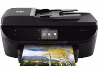 HP Envy 7640 e All in one printer wireless and remote printing