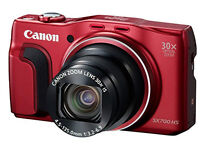 Canon PowerShot SX700 HS Compact System Camera - Red (16.1MP, 30x Optical Zoom) £200