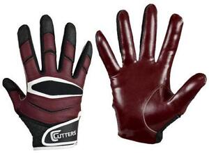 Maroon Cutter Football Gloves 2b44d1220