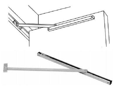 Rixson Surface Mount Overhead Multi Function Stop Holder Interior Doors 10-346