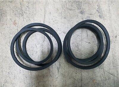 Curtis 5 Fm150 Finish Mower Belts Code 542003 Set Of 2