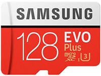 Samsung MB-MC128GA/EU Memory Evo Plus 128 GB Micro SD Card with Adapter