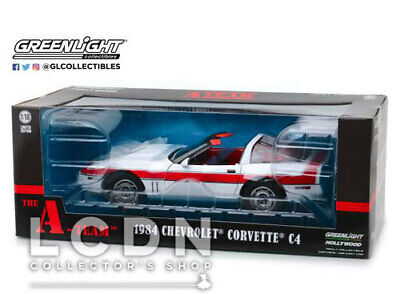 A-Team L'Agence tous risques 1984 Chevrolet Corvette C4 13532 1/18 Greenlight