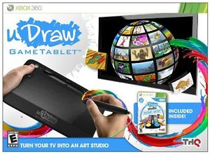 UDraw Studio Instant Artist Game and Tablet