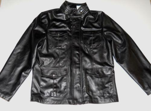 J ferrar leather men 39 s clothing ebay for J ferrar military shirt