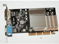 Inno 3D FX5500-8x AGP Graphics Card