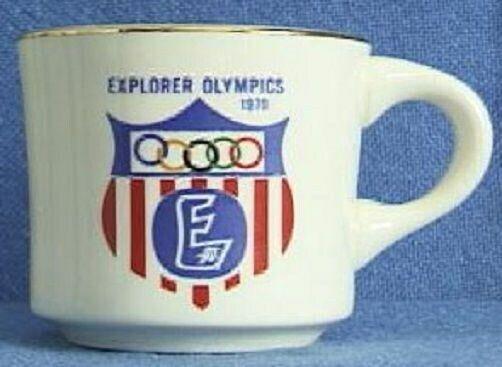 BSA Mug Explorer Scout Olympics 1970