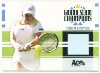 Svetlana Kuznetsova  Grand Slam Champions Match Jersey  Ace Signature Series 05