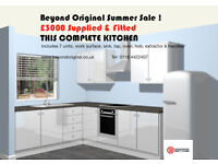 Howdens Kitchen supply and fit just 3000 for 7 units Leicester Loughborough Nottingham