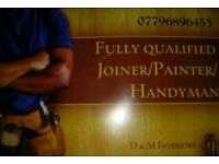 D&M Interiors time served joiner/Handyman 20+ years experience.07796896455