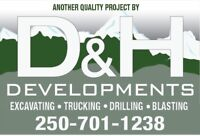 Excavation - Trucking - Drilling - Blasting - Site Services