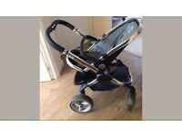 Icandy peach blackjack buggy and carrycot pram