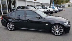 2006 BMW 320i E90 Black 6 Speed Automatic Sedan Southport Gold Coast City Preview