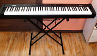 Korg Piano SP-100 & Stand & Pedal & Adapter (88 weighted keys)