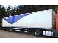 45ft tandem axle box van trailer