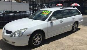 2004 Mitsubishi Verada KL EI AUTOMATIC White 5 Speed Auto Sports Mode Wagon Underwood Logan Area Preview