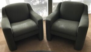 Have a seat - two matching chairs great for business or pleasure