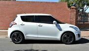 2015 Suzuki Swift FZ MY15 GL White 4 Speed Automatic Hatchback Medindie Walkerville Area Preview
