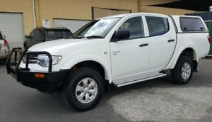 2012 Mitsubishi Triton MN MY12 GLX (4x4) 5 Speed Manual 4x4 Double Cab Utility