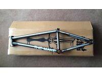 The Makw Crew BMX Frame Raw 20.6 RRP £320